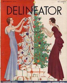 December 1931 - Delineator.  Cover artist is Dynevor Rhys