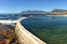 These serene tidal pools offer safety, seclusion and scenic surrounds. Cape Town Photography, Travel Around The World, Around The Worlds, Natural Swimming Pools, Natural Pools, Cape Town South Africa, Beautiful Places To Visit, Scenery, Adventure
