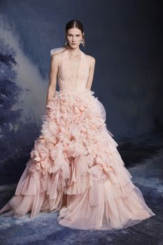 Get inspired and discover Marchesa trunkshow! Shop the latest Marchesa collection at Moda Operandi. Tulle Balls, Tulle Ball Gown, Satin Gown, Ball Gowns, Tulle Dress, Marchesa, Glamour, Tiered Dress, Tiered Skirts