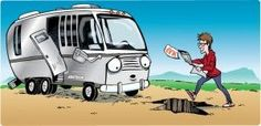 RVers take fun seriously.  They don't always take it carefully. http://www.southefinancial.com #rv Rv financing