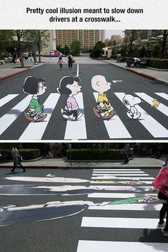Artistic minds are so cool.who would think that Street art would be something other than graffiti from the kids.I love art and street art is pretty cool. 3d Street Art, Amazing Street Art, Street Art Graffiti, Banksy Graffiti, 3d Art, 3d Chalk Art, Funny Optical Illusions, Urbane Kunst, Sidewalk Chalk Art