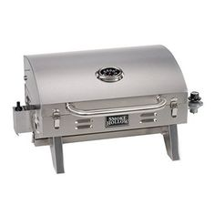 Tabletop Gas Grill Stainless Steel Portable Countertop Propane BBQ Outdoor Yard #GrillsBBQ