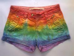 Short Customizado Rainbow Arco-íris  Disponível em naturaltati.tanlup.com