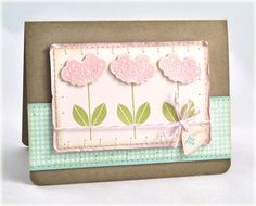 Cute use of Flower Fusion stamps