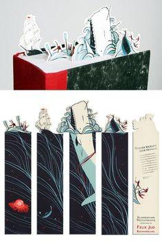 Separadores de página http://culturacolectiva.com/top-10-separadores-de-libros-que-desearias-coleccionar/