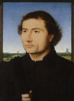 Hans Memling, Portrait of a Man, Frick Collection A La Haye, la Frick Collection | Mu-inthecity.com