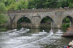 Elvet Bridge, Durham, England