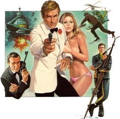 James Bonds By Renato Casaro