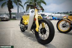 StreetCub Bitches Honda Cub C70 | Flickr - Photo Sharing!