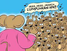Mice Cartoon, Rakyat Merdeka - Februari 2015: Sorak Gembira