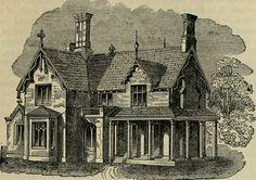 Farmhouse illustration, c.1882