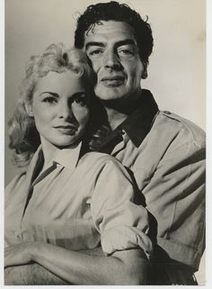 Janet Leigh and Victor Mature