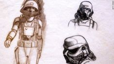 Image result for ralph mcquarrie star wars