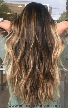 Balayage Color de Pelo Idea