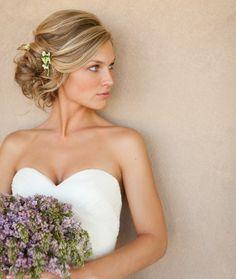 Penteado preso e romântico para noivas <3