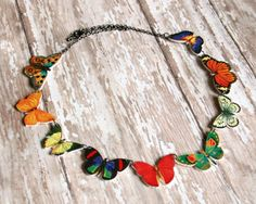 butterfly necklace @etsy.com