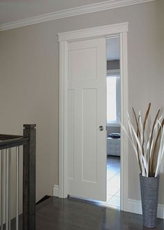 Craftsman III Smooth Finish Moulded Interior Door by JELD-WEN