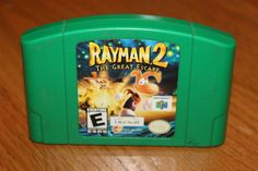 Rayman 2 The Great Escape Nintendo 64 (1999,N64)