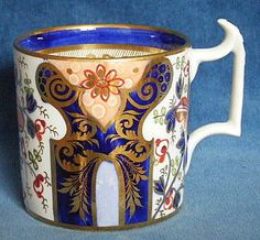 Derby Imari pattern coffee can: Beautiful - perhaps a little too intricate but still beautiful.
