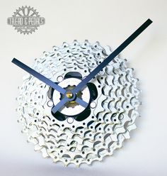 bicycle chain clock  Pinned from PinTo for iPad 