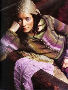 Cardigan/vest debbie bliss Free knit
