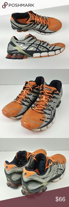 ff3f1a92a Asics Gel Kinsei 4 Mens Running Shoes Orange Black Asics Gel Kinsei 4 Mens  Running Shoes