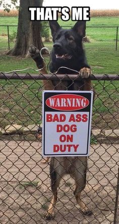 I need this sign for my fence