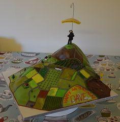 Dave's paragliding birthday cake!