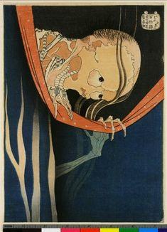 小幡 小平次(こはだ こへいじ)は、江戸時代の伝奇小説や歌舞伎の怪談物に登場する歌舞伎役者。女房の浮気相手に殺された小平次が、不義密通する二人を蚊帳の上からのぞき込む場面。