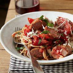 Food & Wine: 8 Fast, Easy and Crazy-Good Sausage Pasta Recipes
