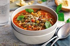 Minestrone soup | Tesco Real Food