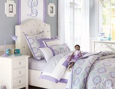 the name of this bedding collection is actually....TORY!!! Tory on potterybarnkids.com