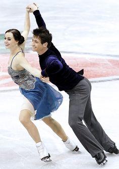 Tessa Virtue and Scott Moir - Short Dance - 2013 Canadian National Figure Skating Championships.