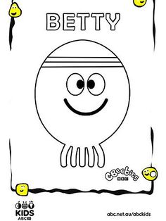 Hey Duggee Squirrels Coloring Page
