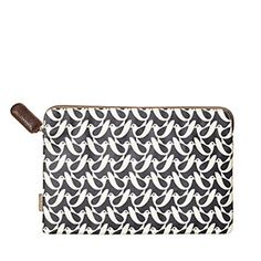Birdwatch Print 11 Inch Sleeve Navy