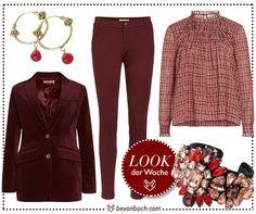 #Burgundy #essential #Look by Brigitte von Boch #bevonboch