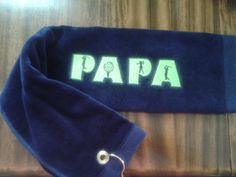 PAPA Golf towel