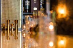 Gold Bar Cocktail preparation