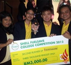Latest News: UCSI team bags second runner-up in Shell FuelSave campaign Mass Communication, A Team, Effort, Competition, Shells, Campaign, University, Students, History