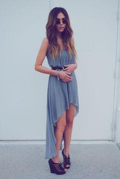 Hi- Low Dress