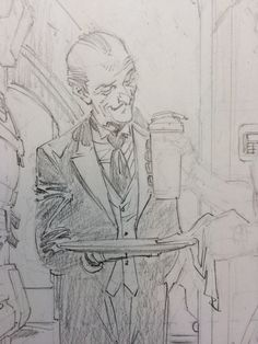 """""""Your buttermilk, sir"""" Comic Book Artists, Comic Artist, Comic Books Art, Drawing Reference Poses, Art Reference, Character Concept, Character Design, Greg Capullo, Cool Sketches"""