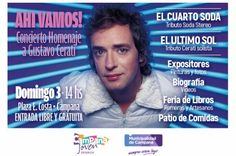 """""""Ahí Vamos"""": Campana Joven propone un concierto homenaje a Gustavo Cerati"""