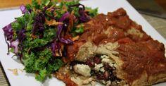 Baked Vegan Enchilada Recipe