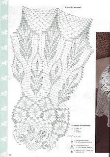 Вязание крючком и спицами/Crochet and knitting: Вяжем крючком - вишневый кардиган