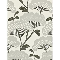 Buy Sanderson Home Tree Tops Paste the Wall Wallpaper Online at johnlewis.com