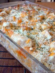 Cheesy Chicken Ranch Lasagna - Popular Recipes On Pinterest