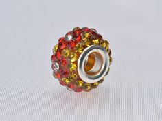 rhinestone beads,14x10mm rondell beads,crystal beads,copper beads,copper beads,Charm beads