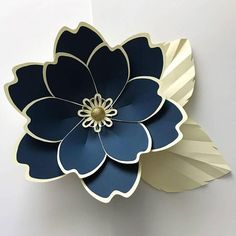 SVG Petal 100 Paper Flower Template Digital Version The