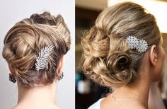 Add a bit of the season into your wedding hairstyle!