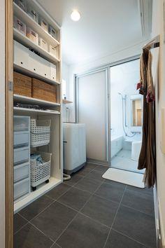 Pin on 収納 House Design, House, Bathroom Toilets, Laundry Room Design, Interior Design Trends, House Interior, Interior Design Living Room, Living Design, New House Plans